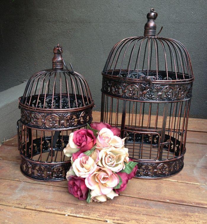tolle deko ideen mit vogelk figen. Black Bedroom Furniture Sets. Home Design Ideas