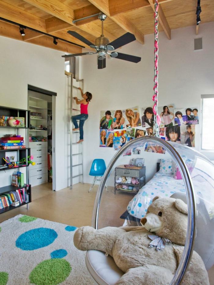 Designer Kinderzimmer mit Hängesessel-Kinderzimmer Jugendschlafzimmer