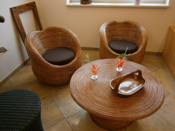 Designer-Kreationen aus Bambus-Bambus Dekoration
