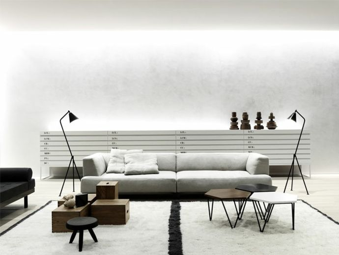 Designer Möbel minimalistische Einrichtung-Industriedesign