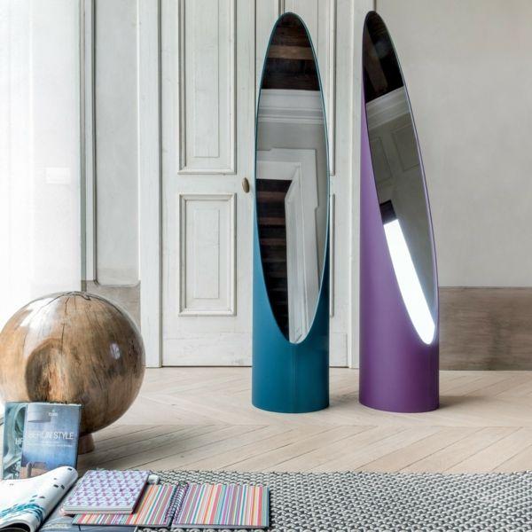Designer-Standspiegel-Wohnaccessoires Ideen