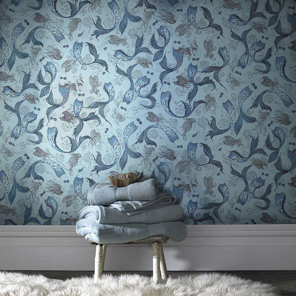 Designer Tapeten und Wanddekoration fürs Badezimmer - Trendomat.com