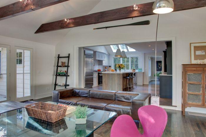 Die Einsetzung des Couchtisches aus Glas-Glastisch Wohnzimmer Gestaltung Möbelwahl Couchtisch