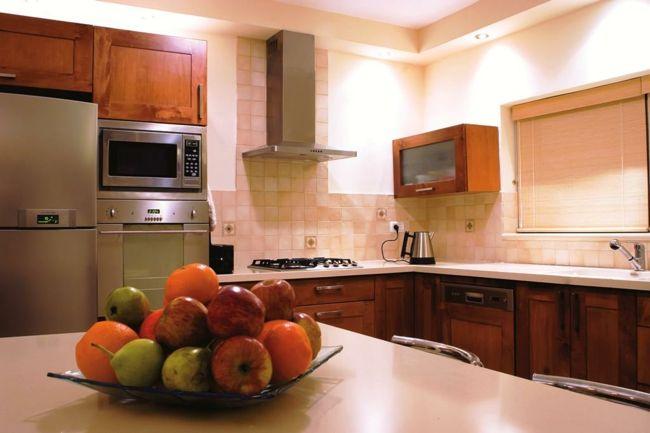 Die Elemente Holz und Metall sind wesentlich bei der Küchengestaltung-Küche nach Feng Shui Einrichten