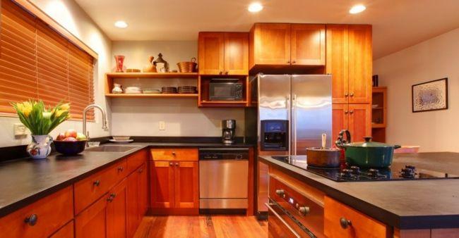 Die Wirkung der Elemente Holz und Metall ausgleichen-Kücheplanung Küchegestaltung Feng Shui Wohlstand Wohlbefinden Glück Familienleben