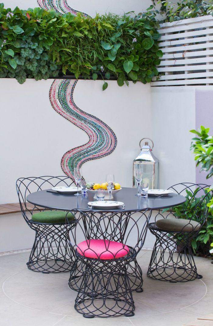 Eine schicke und stilvolle Lösung-Gartenmöbel aus Metall