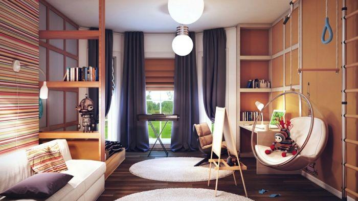 Eine stilvolle Einrichtung für den kreativen jungen Menschen-Feng Shui Kinderzimmer