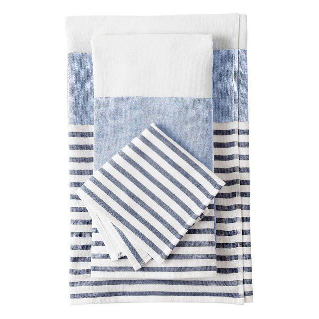 Einheitliche Badetücher für einen harmonischen Look-Badezimmer Einrichtung