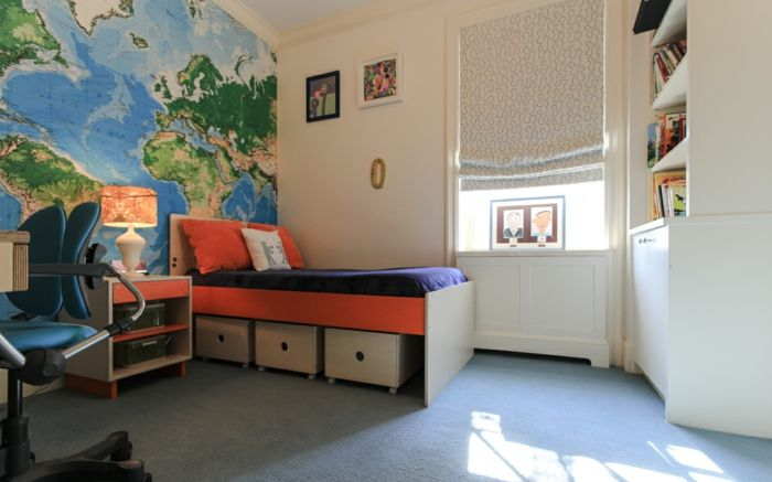 Einrichtung für abenteuerlustige Kinder-Kinderzimmer Bettposition Feng Shui