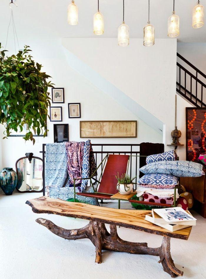 Eklektisches Wohndesign-Farbwahl modernes Innenraumdesign