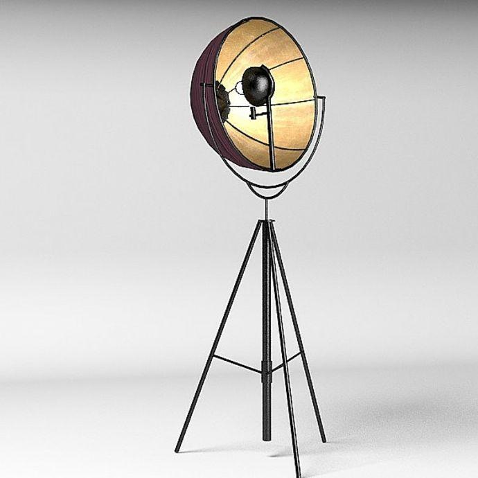 Elegante Stehlampe im zeitgenössischen Stil-Lampen und Leuchten