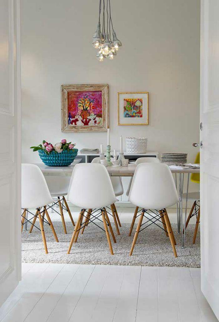 Esszimmer-Farbwahl modernes Innenraumdesign