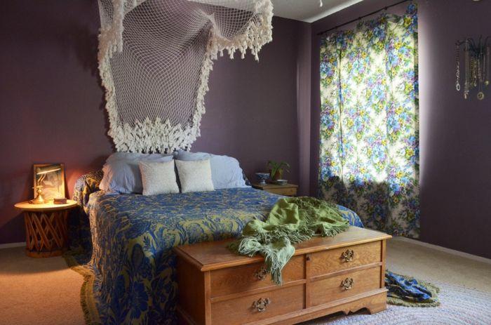 Exotisch Bohemian-Eklektisches Design Schlafzimmer