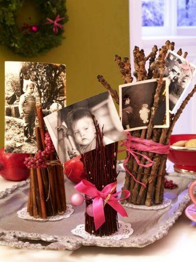 Für einen niedlichen Look Reisigbündel kürzen und dekorieren-Schnelle und leichte selbstgemachte Geschenkideen DIY