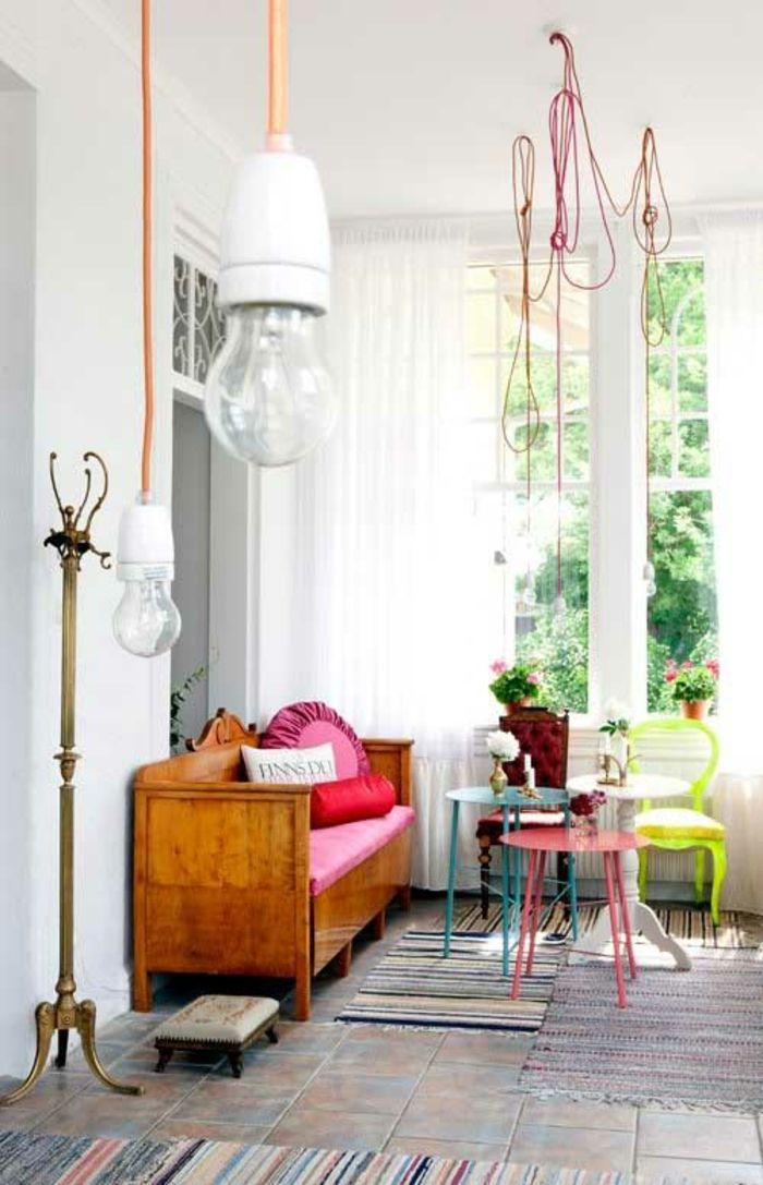 Innenraumdesign  Modernes Innenraumdesign- Bringen Sie mehr Farbe ins Spiel ...