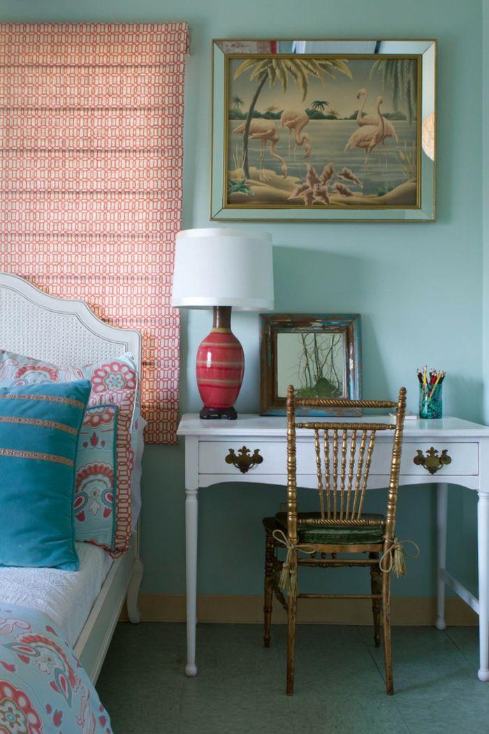 Feminine Gestaltung-Eklektisches Design Schlafzimmer
