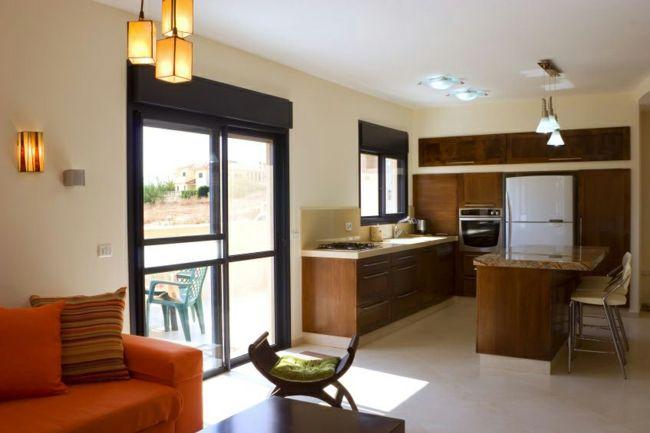 Feng Shui in der Küche-Feng Shui Farbenwahl Möbel Positionierung Küche einrichten