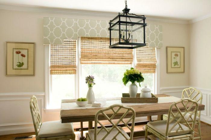 Fensterbehandlung Ornament Esszimmer Shabby Chic Landhausstil-dekorative Deckenleisten