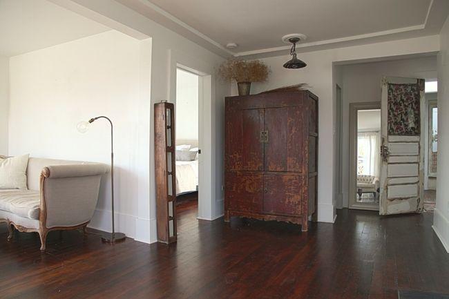 Flur im Vintage Look-Eklektische Wohnung Vintage rustikal