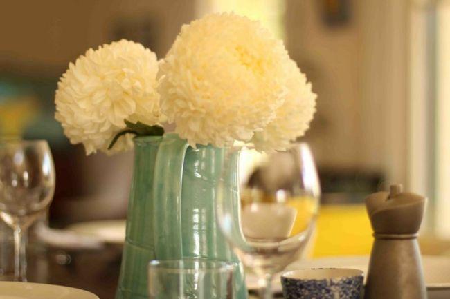 Frische Blumen in jedem Zimmer-Schöne Deko-Ideen