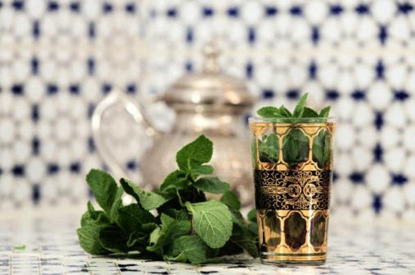 Frische Minzblätter-Minztee Wirkung Teesorten Teepflanze
