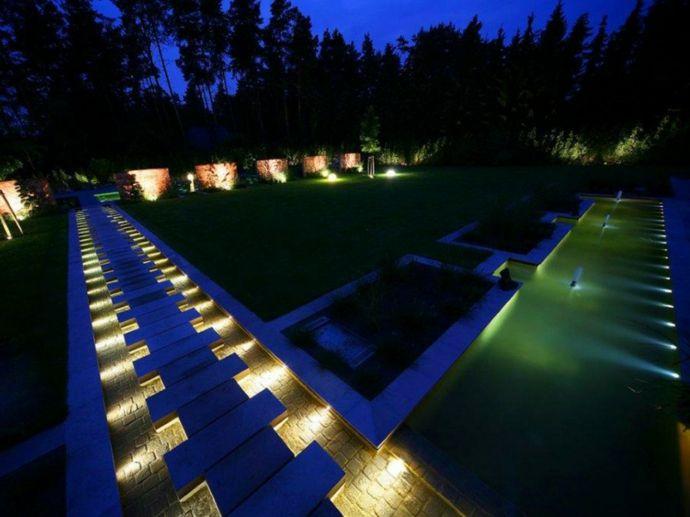 Gartenbeleuchtung Modern außenbeleuchtung und gartenleuchten trendomat com