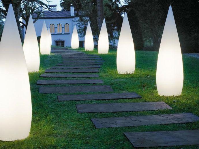 Gartenpfad Außenbeleuchtung Beleuchtungskörper-Gartenleuchten