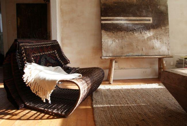 Gemütlicher Rückzugsort mit rustikalem Look-Eklektische Wohnung Vintage rustikal