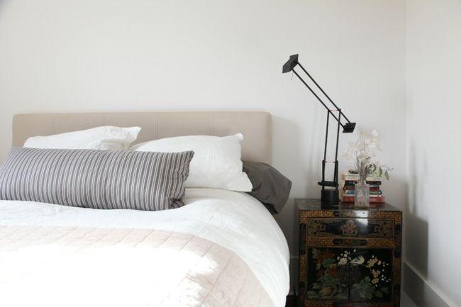 Gemütliches kleines Schlafzimmer-Eklektische Wohnung Vintage rustikal