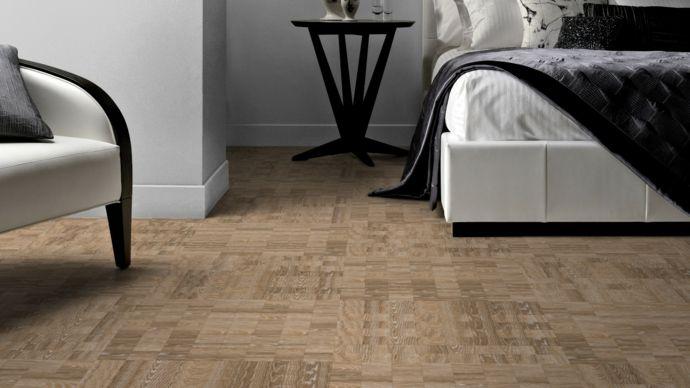 Gemusterter Holzboden-Bodenfliesen moderne Textur