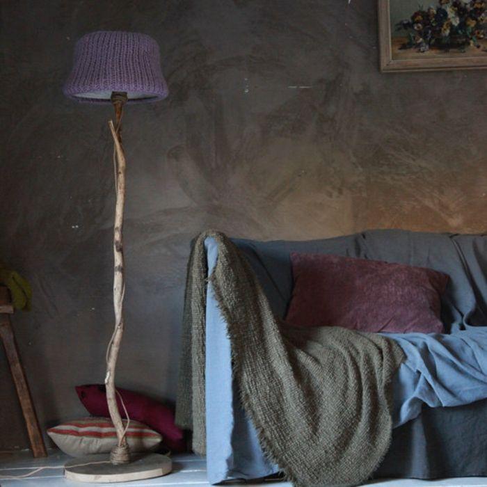 Gestrickter Lampenschirm für das Schlafzimmer-Gestrickter Lampenschirm
