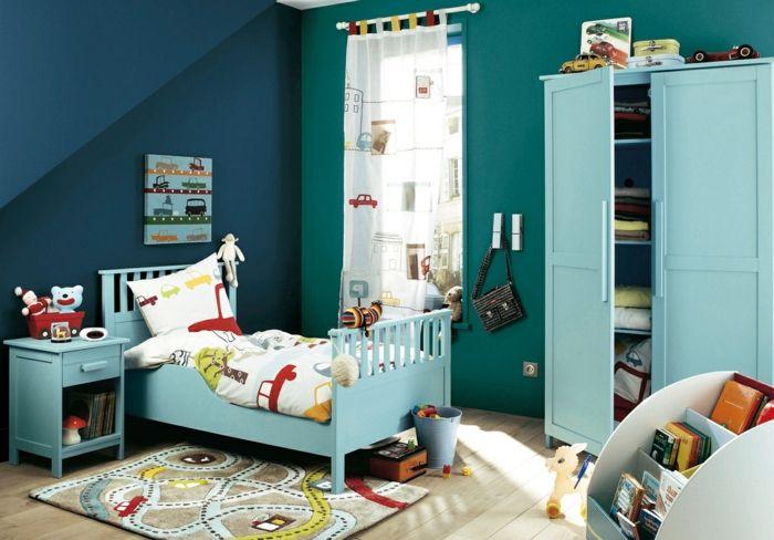 Hellblau ist eine tolle Variante sowohl für Jungen als auch für Mädchen-Feng Shui Farben Schlafzimmer