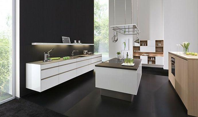 Hochglänzend MDF-Front modern Designer Küche-Küchen mit Kochinsel