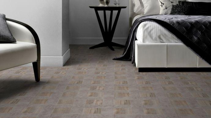 Holzboden kleine Muster-Bodenfliesen moderne Textur