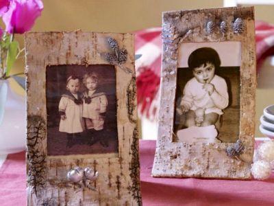 Holzscheiben als Vintage-Schnelle und leichte selbstgemachte Geschenkideen DIY