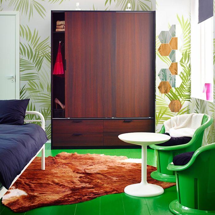 Ikea Dunkelbraune Garderobe für schmale Räume-Hochwertige Kleiderschränke für das Schlafzimmer