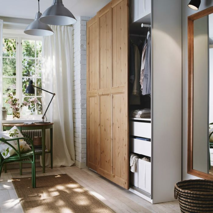 Ikea Garderobe Holz Weiß-Hochwertige Kleiderschränke für das Schlafzimmer