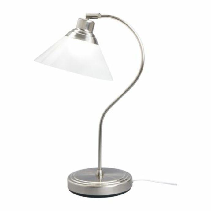 Ikea Kroby Schreibtischlampe vernickelt-Moderne Lampen