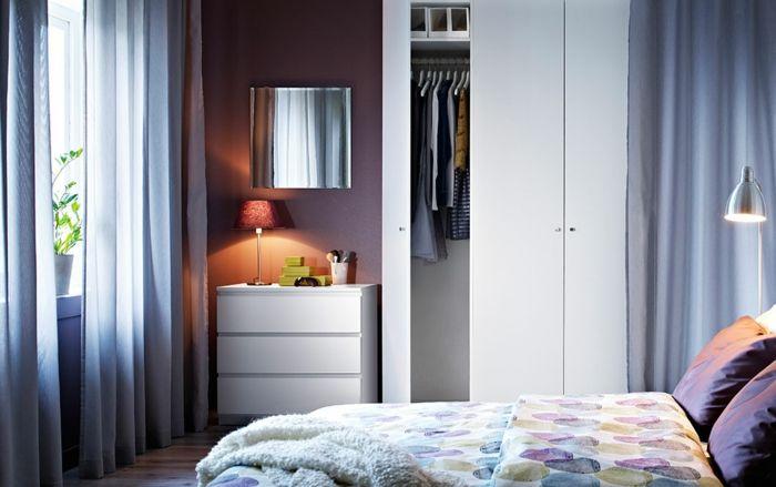Ikea schlichtes Design-Hochwertige Kleiderschränke für das Schlafzimmer