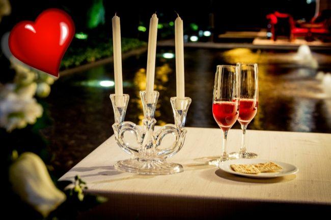 Intimes Dinner im Freien-Ideen zum Valentinstag
