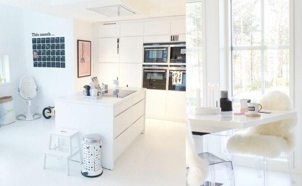 Küche im skandinavischen Stil- Skandinavisches Design
