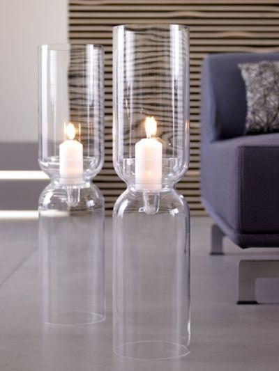 Kerzenhalter aus Glas-große Kerzenständer