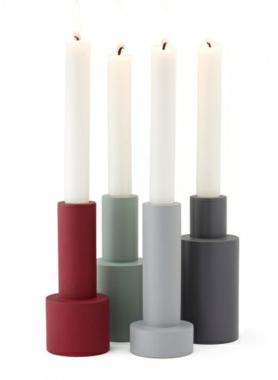 Kerzenleuchter in verschiedenen Farben-Kerzenhalter Design