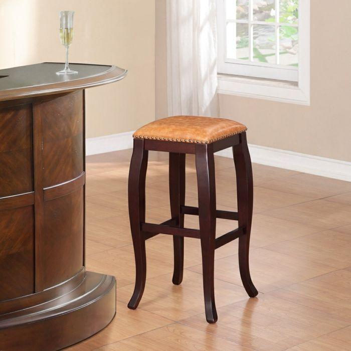 Klassischer Barhocker ohne Rückenlehne-Barhocker für Ihre Küche