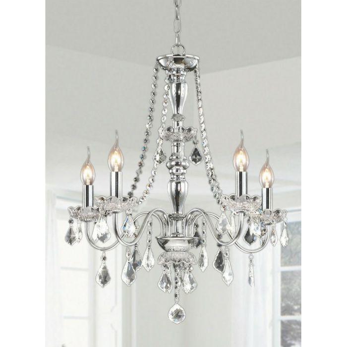 Klassischer Kristall Kronleuchter mit Glühbirnen-Die Wirkkraft des Kronleuchters