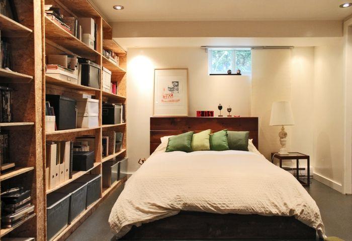 Kleines Schlafzimmer-DIY Kopfteil Europalette