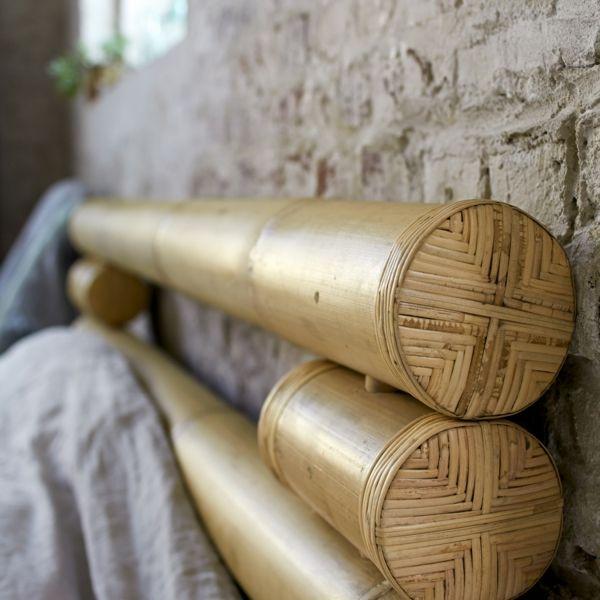 Kopfteil für Bett aus Bambus-Bambus Dekoration