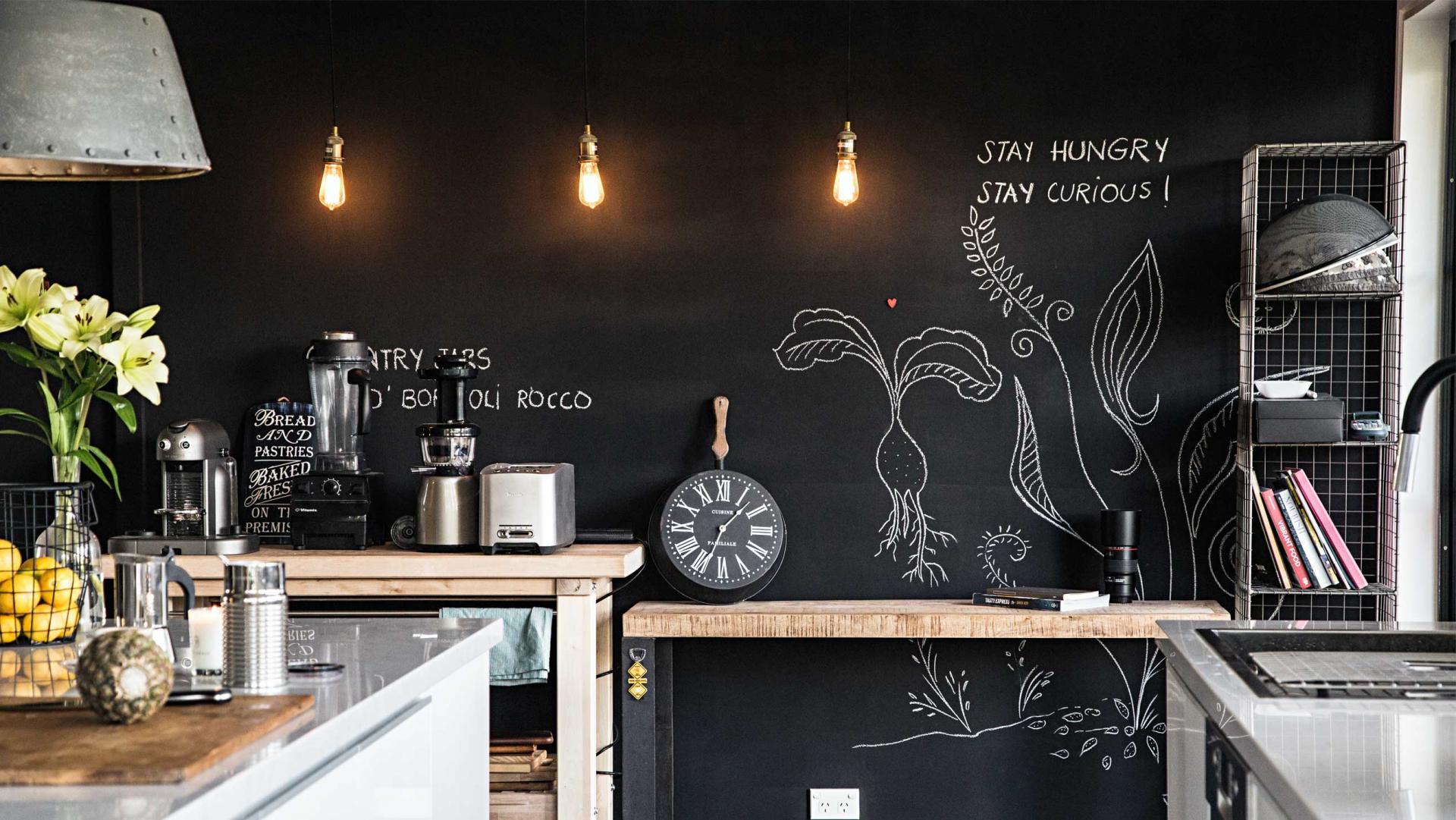 8 Kreidetafel für Notizen der praktische Küchenhelfer