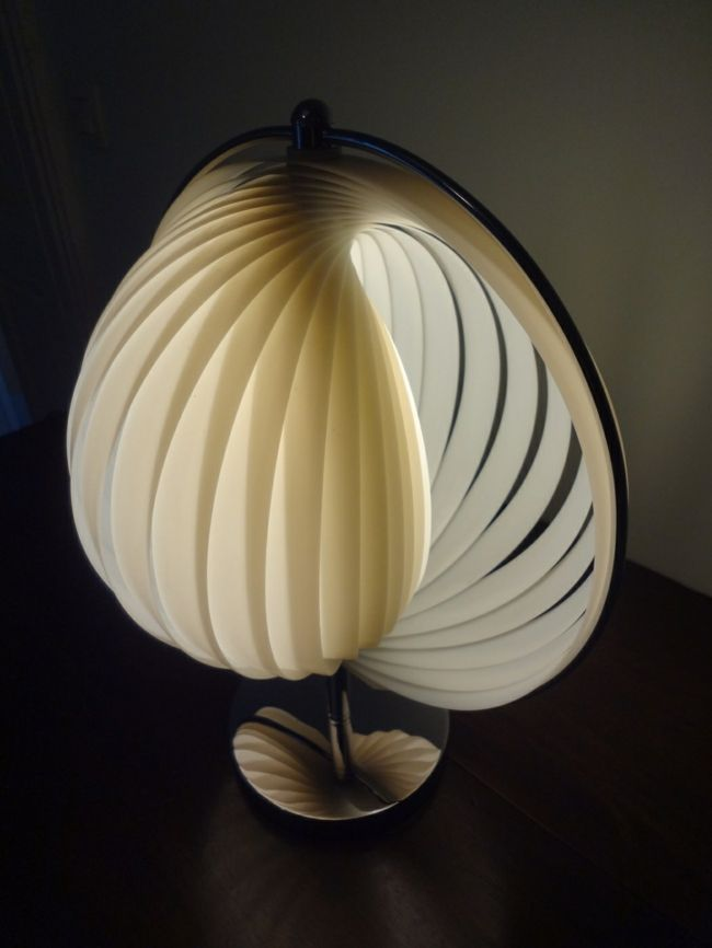 Lampe in Retro-Look-Schöne Deko-Ideen