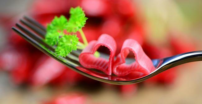 Leckereien in Herzenform-Ideen zum Valentinstag